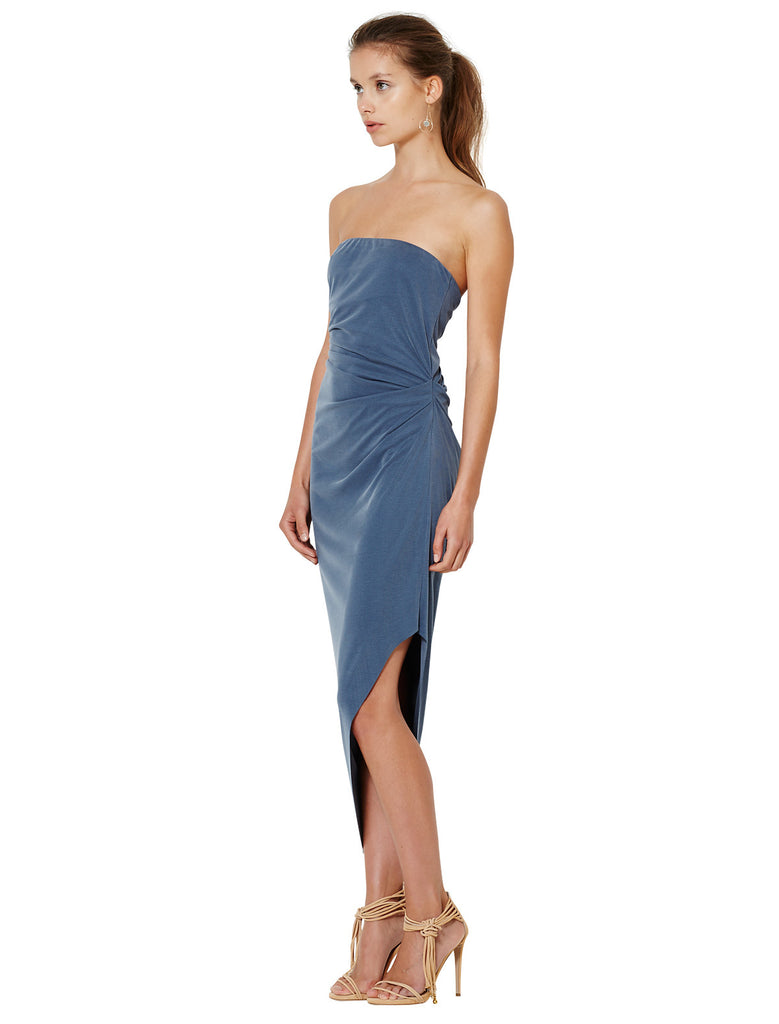 Bec and Bridge Delphine Strapless Dress Steele Blue - Call Me The Breeze - 2