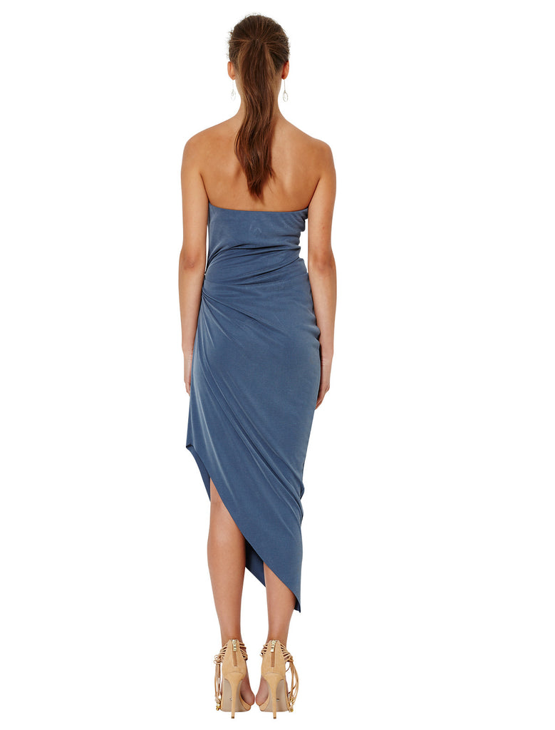 Bec and Bridge Delphine Strapless Dress Steele Blue - Call Me The Breeze - 3