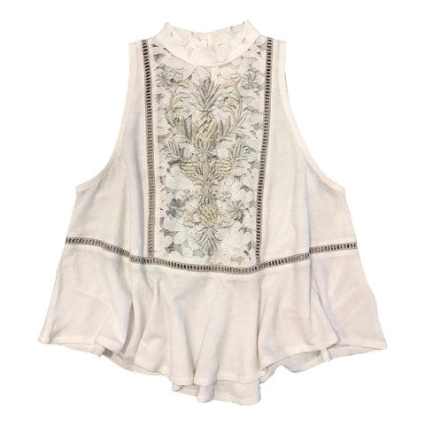 Free People Flora Top Ivory - Call Me The Breeze - 1