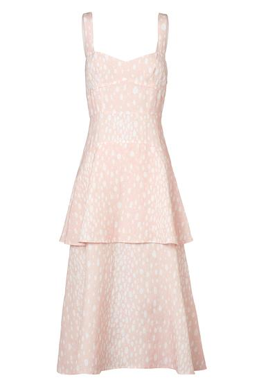 Steele Belle Dress Blush Spot