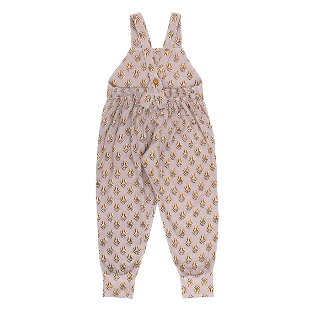Children of the Tribe Spring Feathers Violet Overalls - Call Me The Breeze
