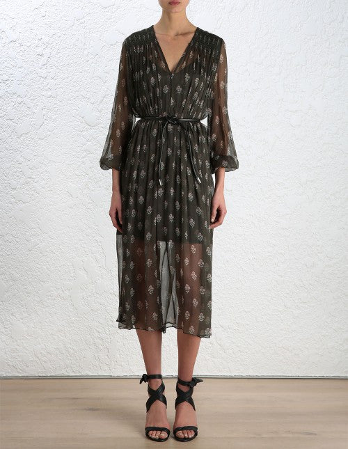 Zimmermann Karmic Stamp Smock Dress - Call Me The Breeze - 2