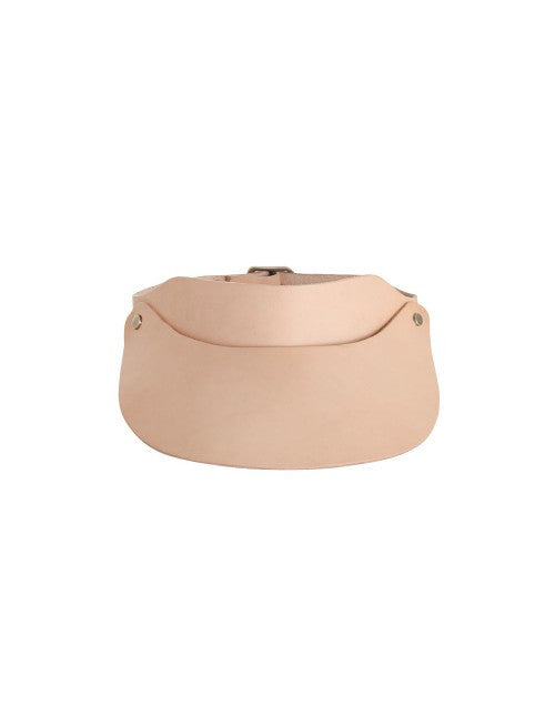 Zimmermann Leather Visor Natural Tan - Call Me The Breeze - 3