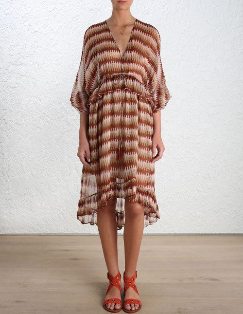 Zimmermann Chroma Drawn Dress - Call Me The Breeze - 2