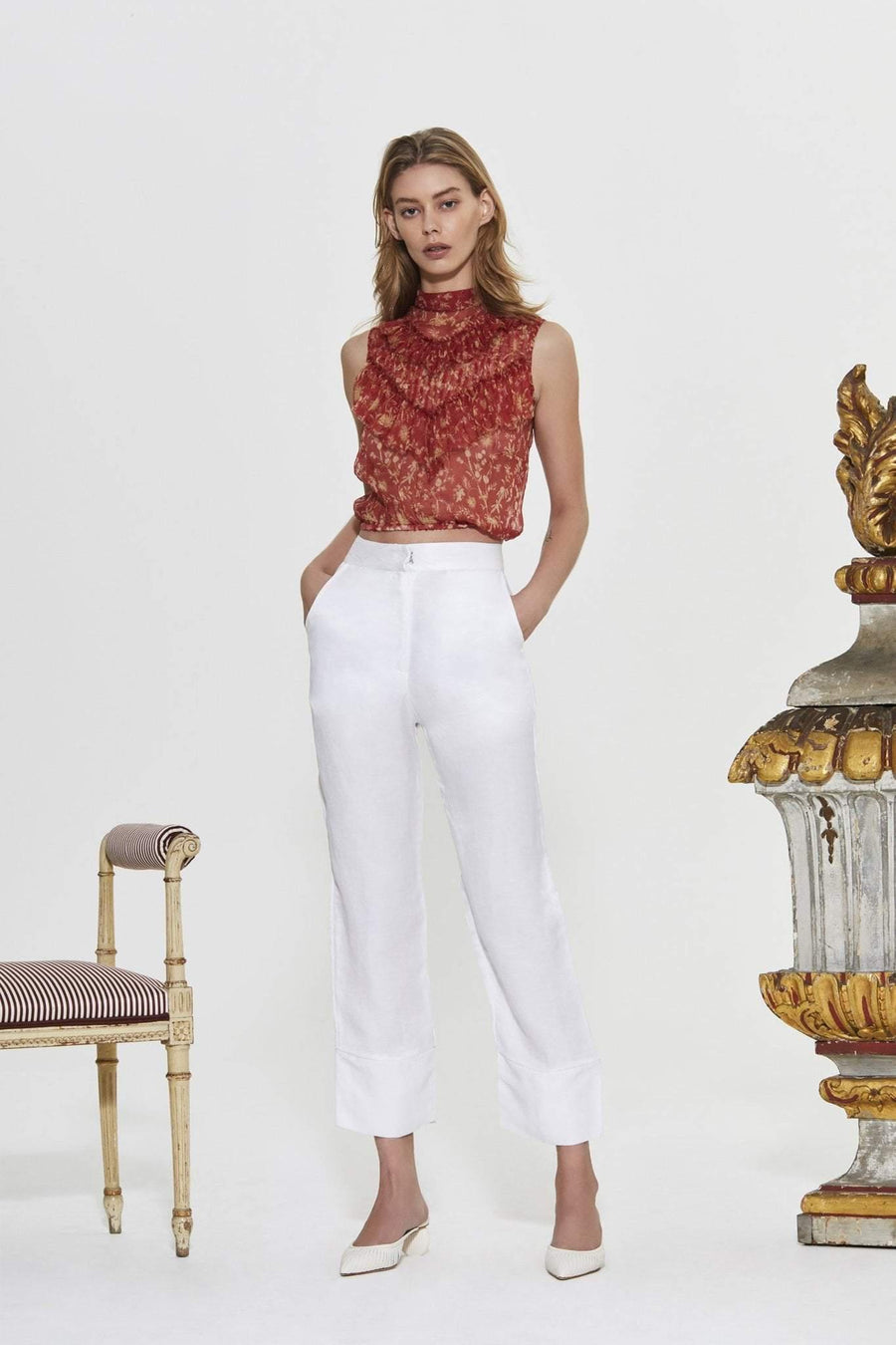Sir The Label Dalila High Waisted Pant