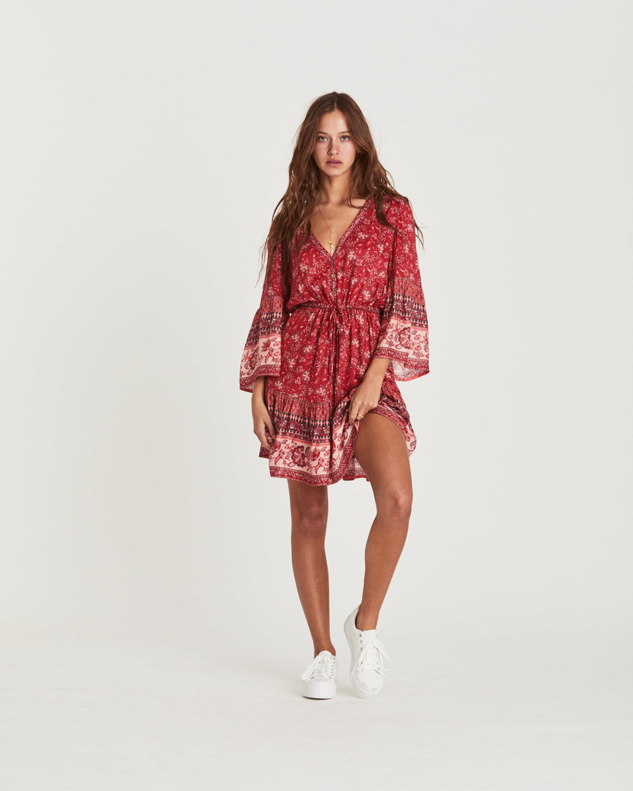Arnhem Amelie Mini Dress Cassis
