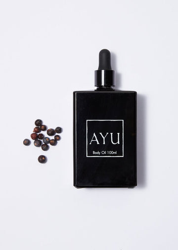 AYU Juniper Berry, Petitgrain & Vetiver Body Oil