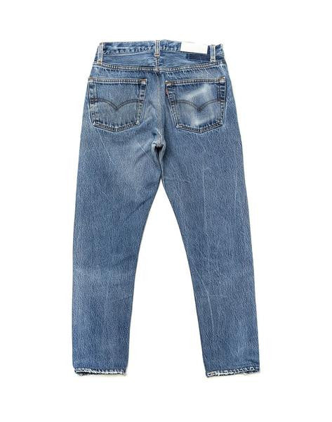 RE/DONE High Rise Crop Jean Deconstructed - Call Me The Breeze - 2