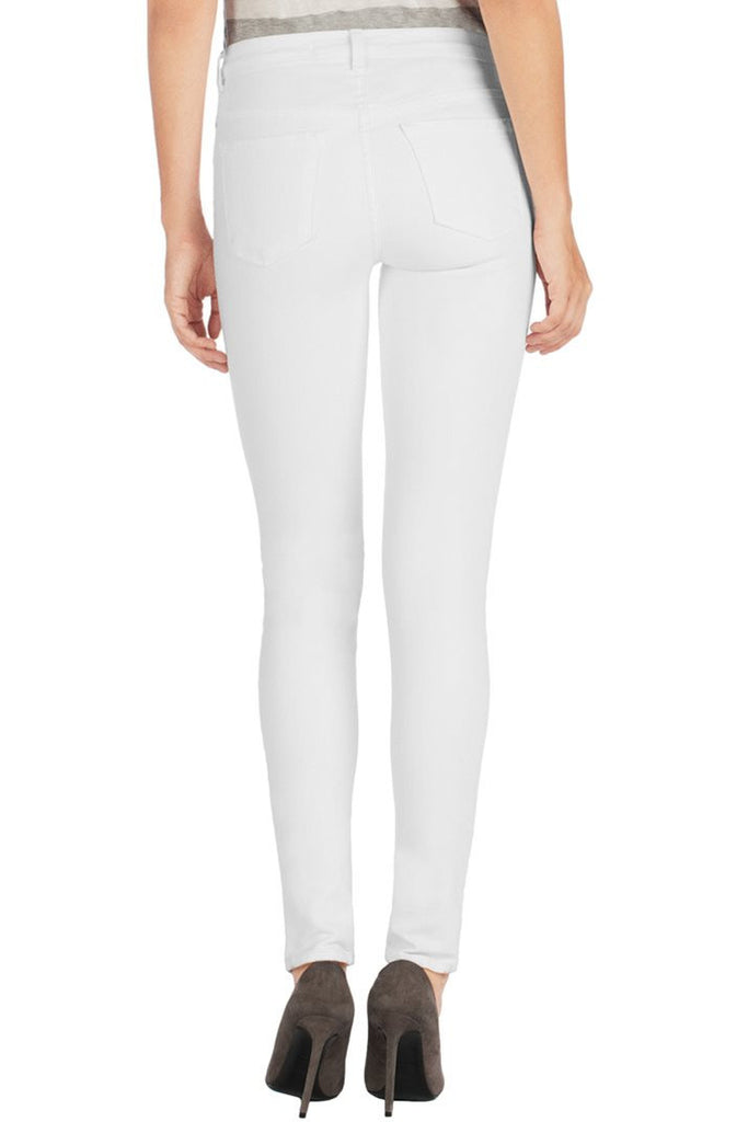 J Brand Maria High Rise Skinny Blanc - Call Me The Breeze