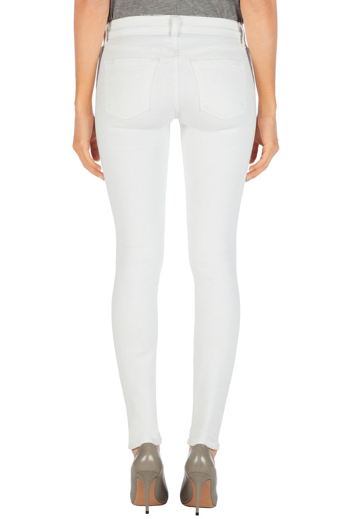 J Brand Mid Rise Skinny Leg in Blanc - Call Me The Breeze