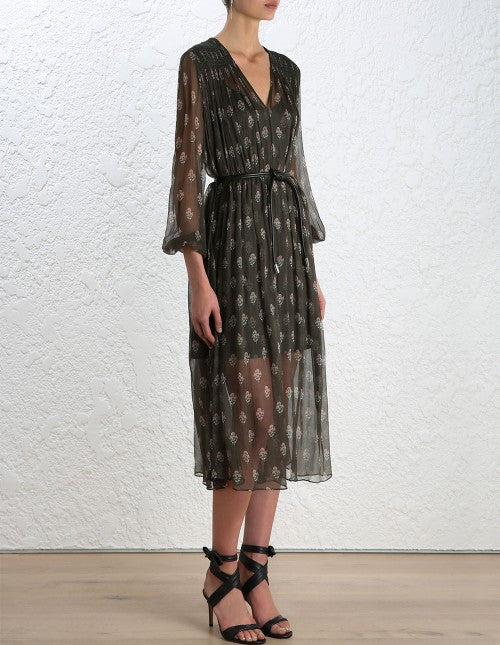 Zimmermann Karmic Stamp Smock Dress - Call Me The Breeze - 3