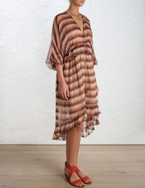Zimmermann Chroma Drawn Dress - Call Me The Breeze - 3