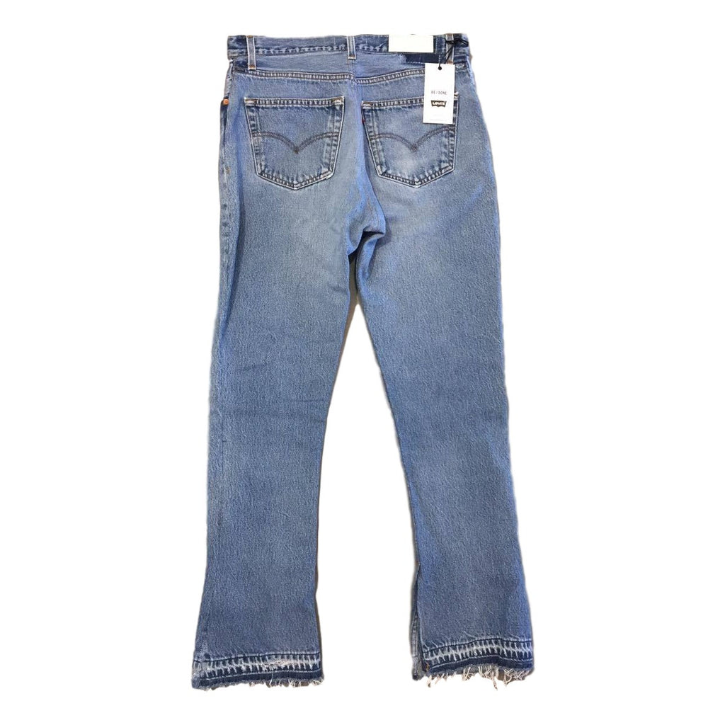 Re/Done Elsa Mini Flare Jean Size 30 - Call Me The Breeze - 4