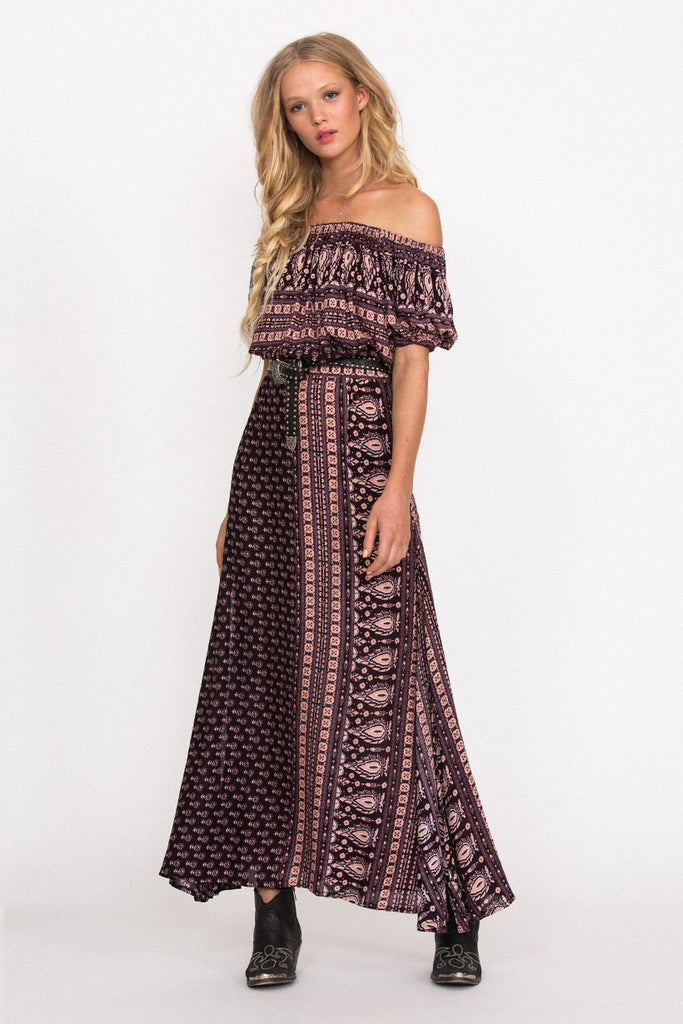 Spell Gypsiana Maxi Skirt Pepper - Call Me The Breeze - 4