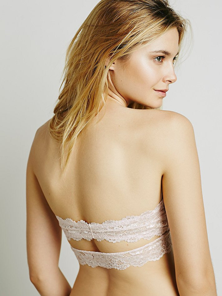 Free People Deep In The Dark Bandeau Peach - Call Me The Breeze
