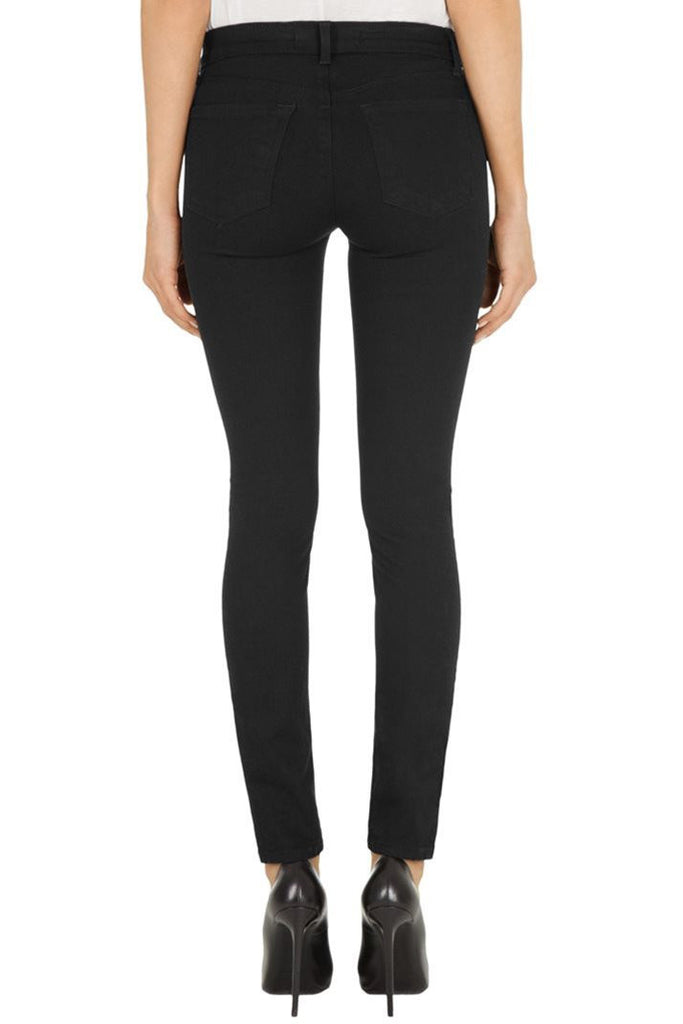 J Brand 811 Mid Rise Luxe Twill Black - Call Me The Breeze