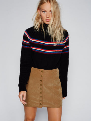Free People Oh Snap Vegan Mini Chestnut - Call Me The Breeze