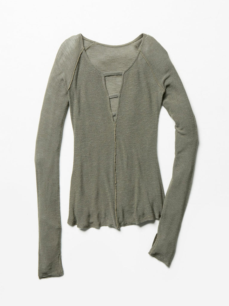 Free People Bae Bae Layering Top Olive - Call Me The Breeze - 5