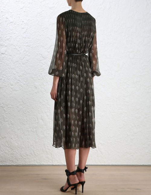 Zimmermann Karmic Stamp Smock Dress - Call Me The Breeze - 4