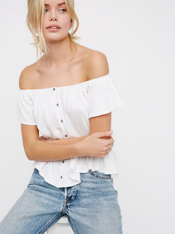 Free People Mint Julep Tee - Call Me The Breeze - 1