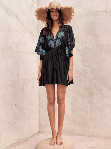 Free People Cora Dress Black