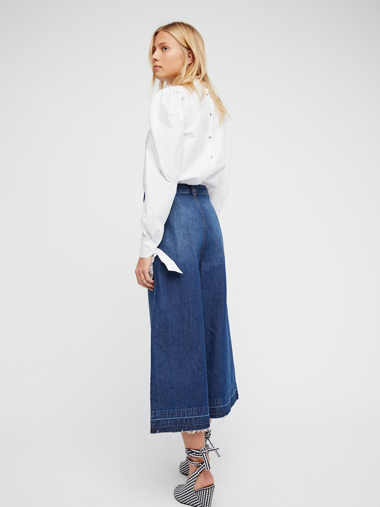Free People Dawn To Dusk Crop Flare