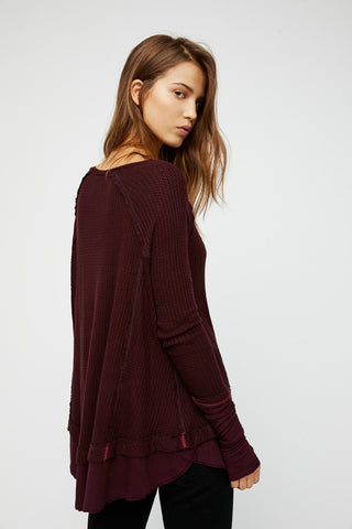 Free People Laguna Thermal Wine