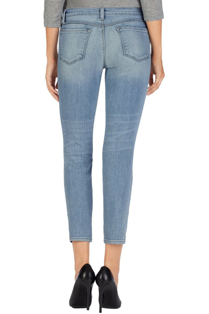 J Brand 835 Mid Rise Crop in Dropout - Call Me The Breeze - 3