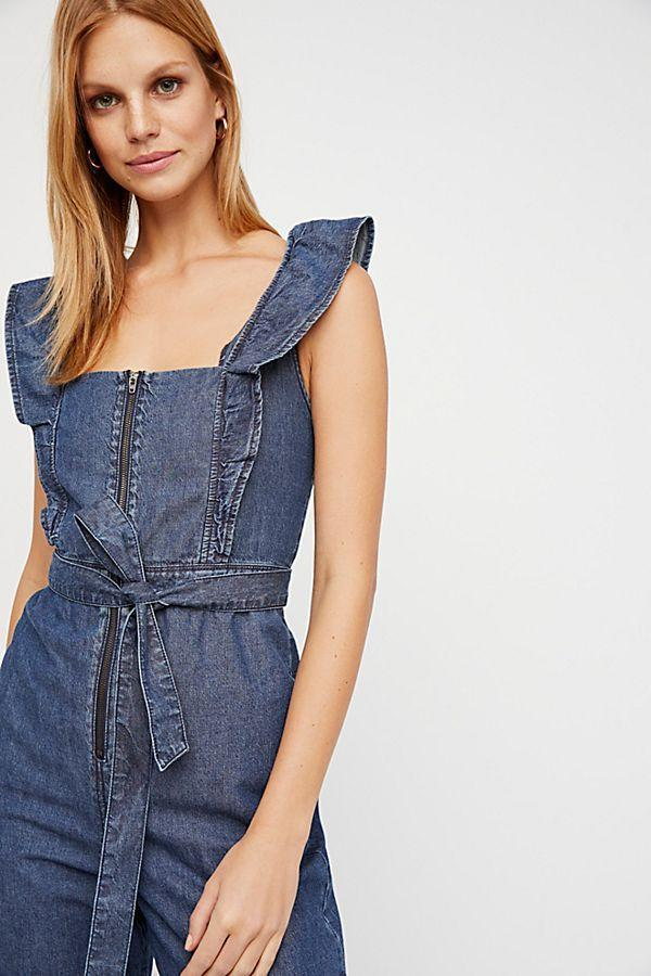 a68e65837305 Free People Sun Valley Jumpsuit Dark Indigo – Call Me The Breeze