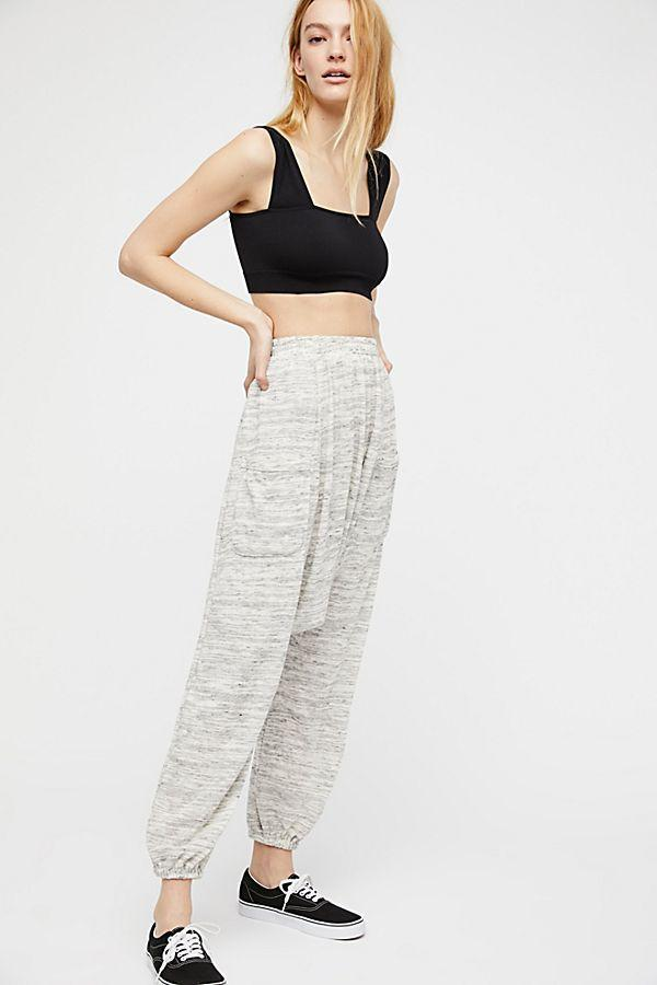 Free People More Chill Jogger Grey