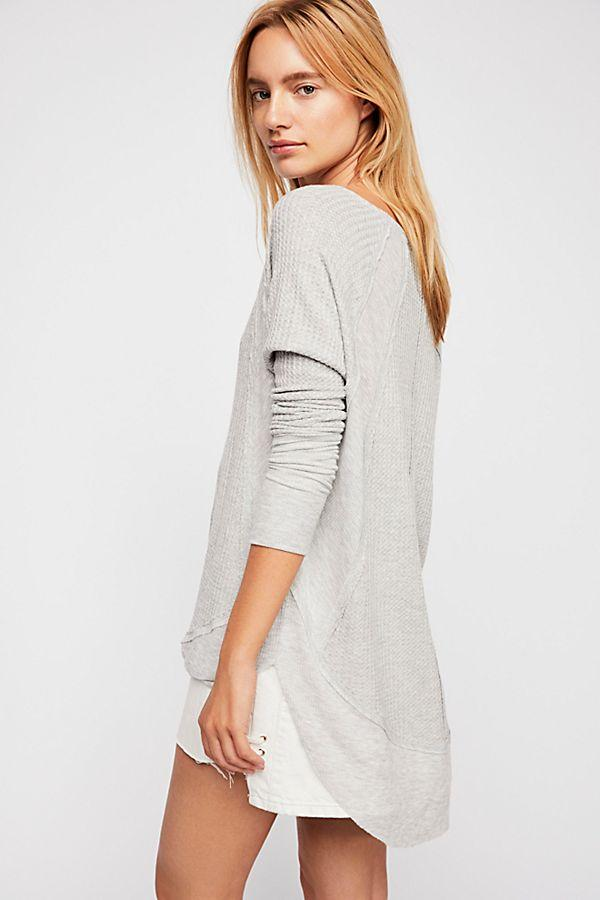Free People Catalina Thermal Grey