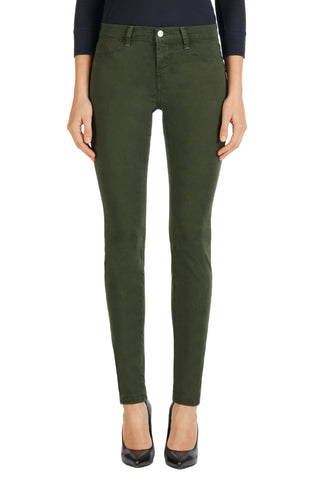 J Brand 485 Mid Rise Luxe Sateen Pant Caledon - Call Me The Breeze