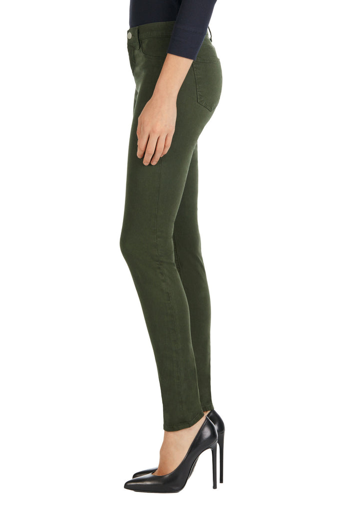 J Brand 485 Mid Rise Luxe Sateen Pant Caledon - Call Me The Breeze - 3