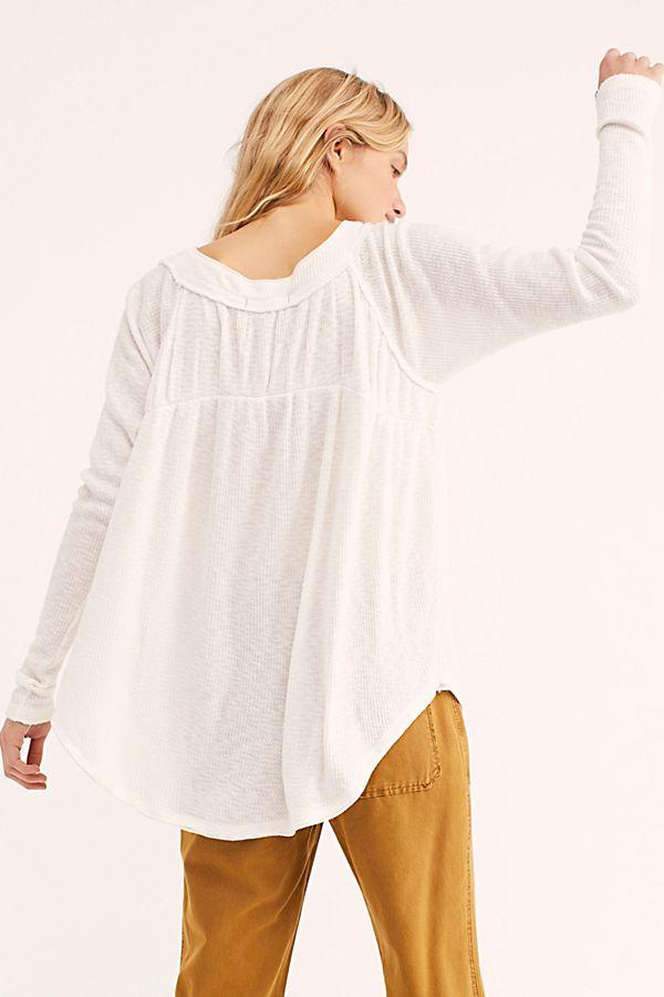 Free People Must Have Henley Ivory