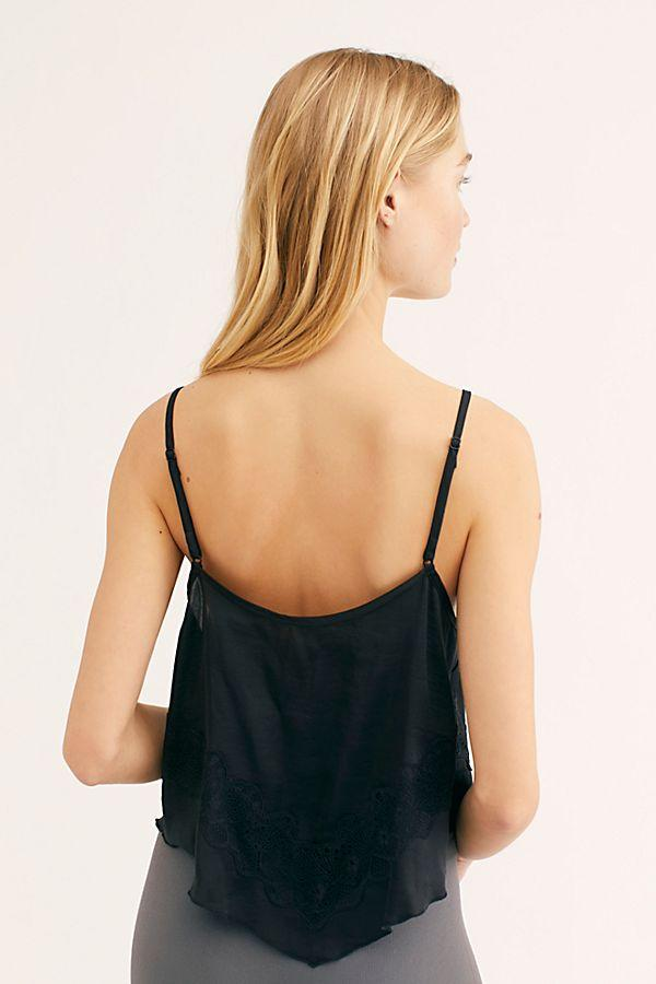 Free People Your Eyes Cami Black