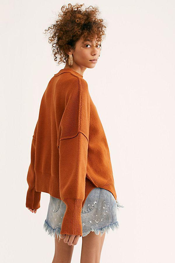 Free People Easy Street Tunic Copper