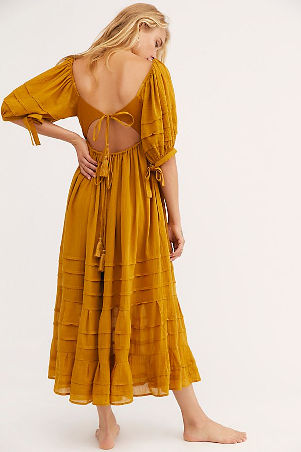 Free People Lets Be Friends Midi Copper
