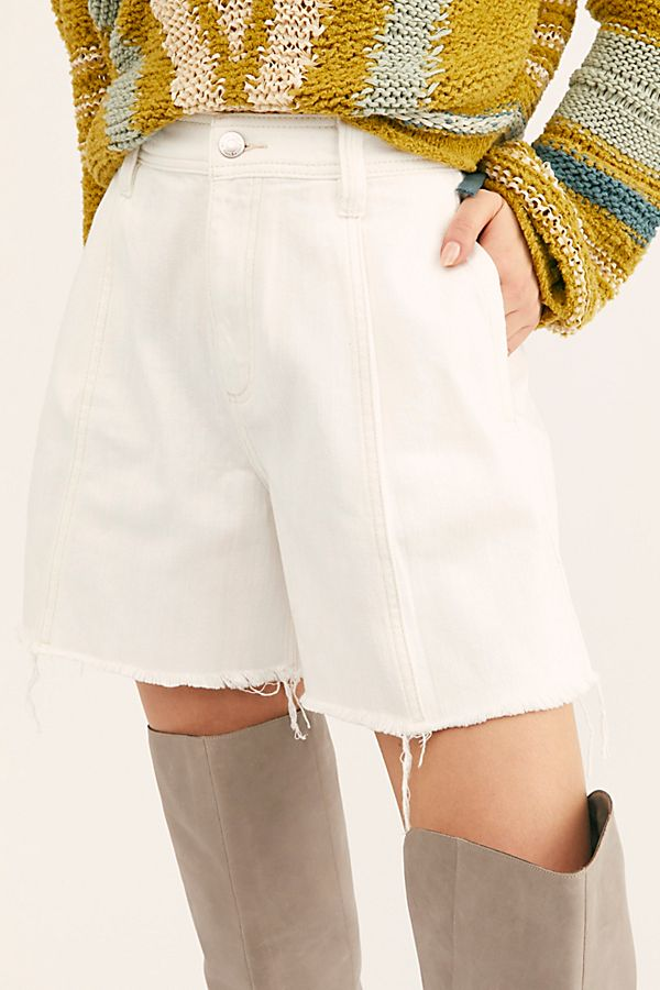 Free People Amelie A-Line Short White