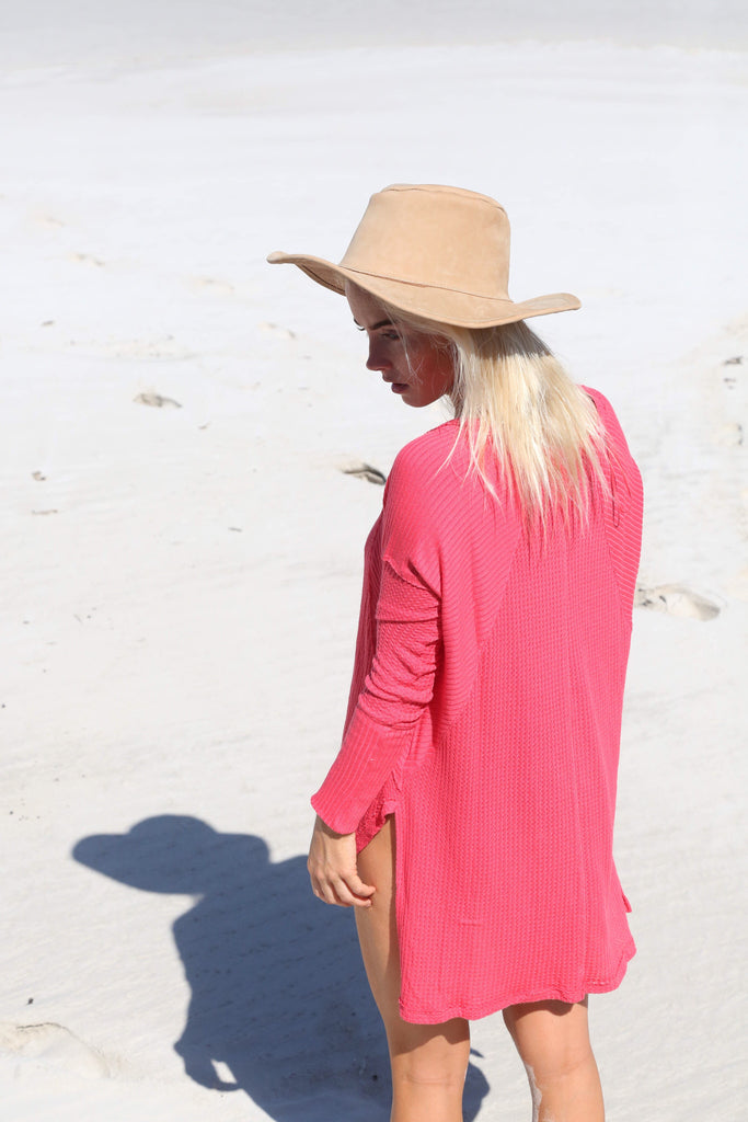 Free People Ventura Thermal Poppy - Call Me The Breeze