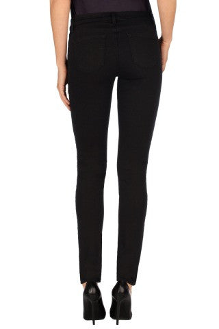 J Brand Mid Rise Jean Seriously Black