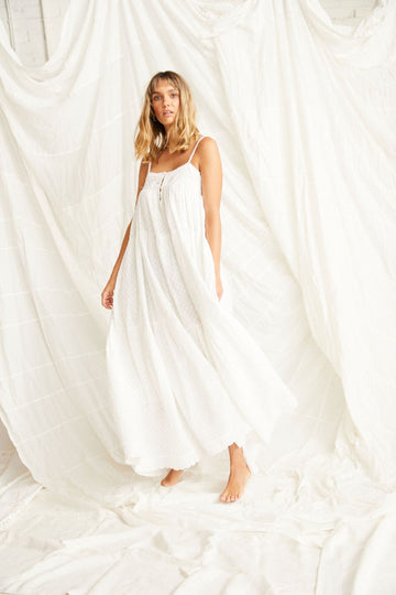 Kinga Csilla Neroli Dress White