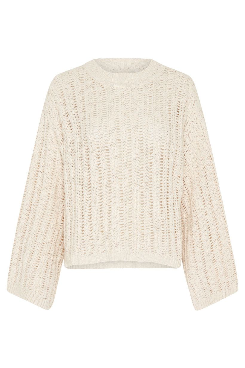 Spell Heather Knit Jumper Cream