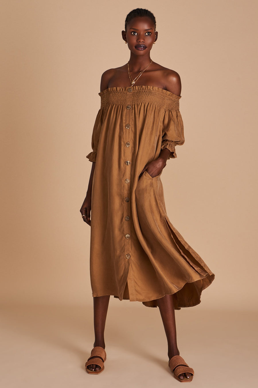 Sancia The Audra Dress Cocoa