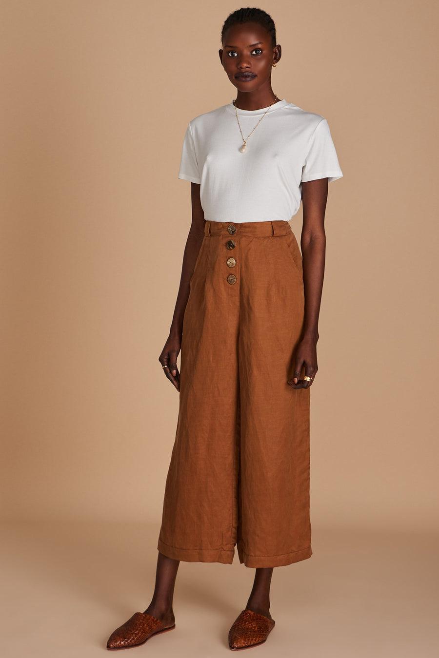Sancia The Isabel Pants Mocha