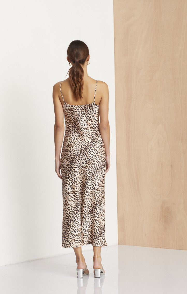 Bec and Bridge Feline Midi Dress