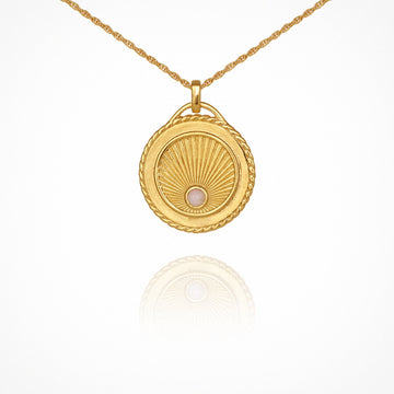Temple of the Sun Aadi Necklace Gold