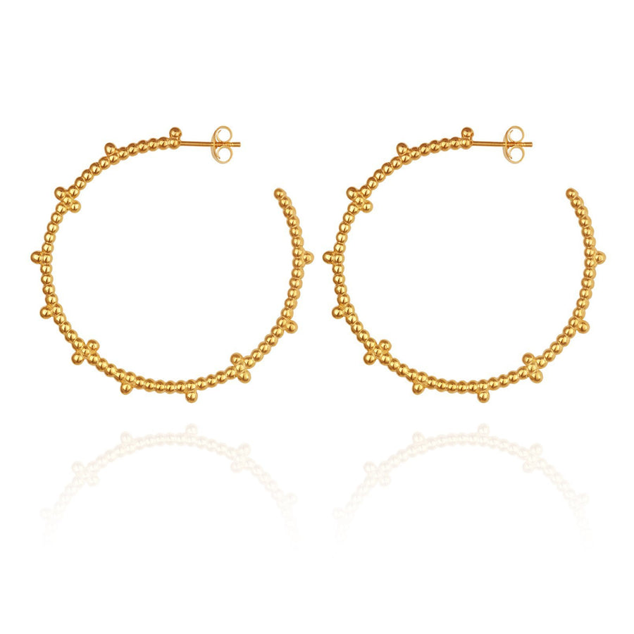 Temple Of The Sun Anni Earrings Gold