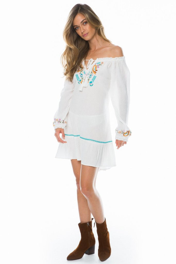 Arnhem Kingsley Tunic White