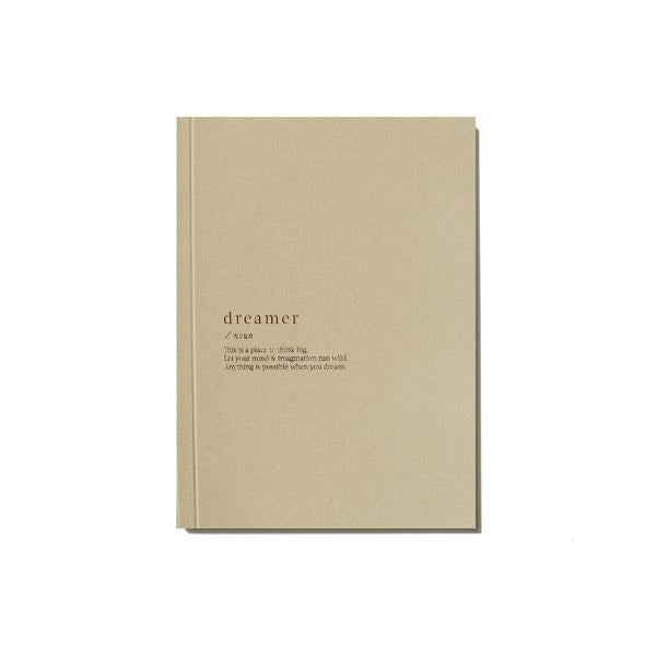 Organised Life Dreamer Notebook Beige