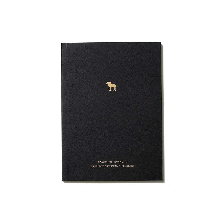 An Organised Life Aries Zodiac Notebook